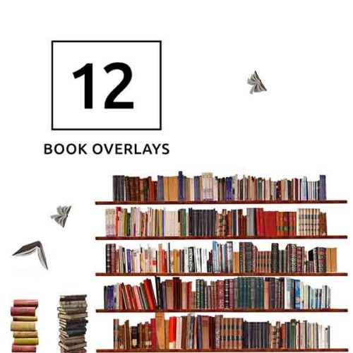 book png overlays