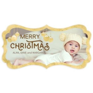 Luxe Christmas Card Template