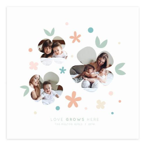 20X20 Wall Art Collage Template