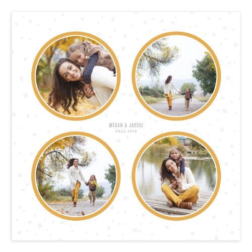 20X20 Family Wall Art Collage Template