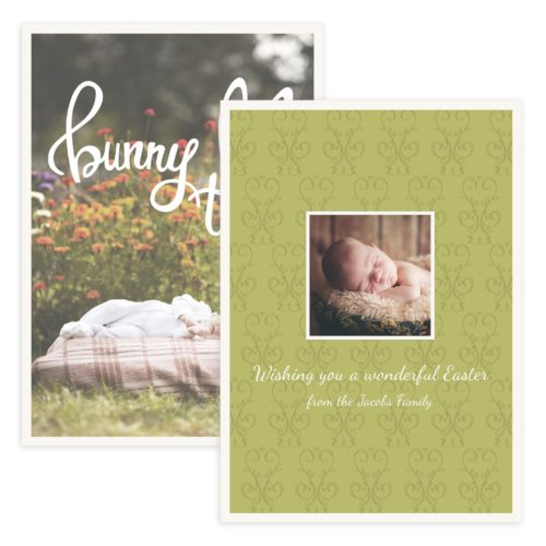 Photoshop Easter Card Template