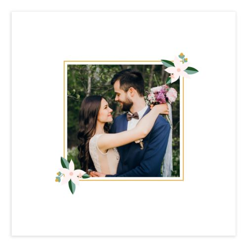 Wedding Collage Wall Art Template