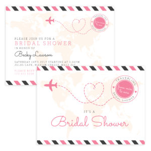 Unique Bridal Shower Template