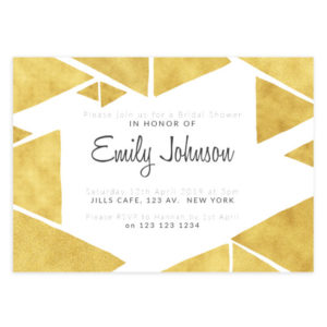 Bridal Shower invite template for Photographers