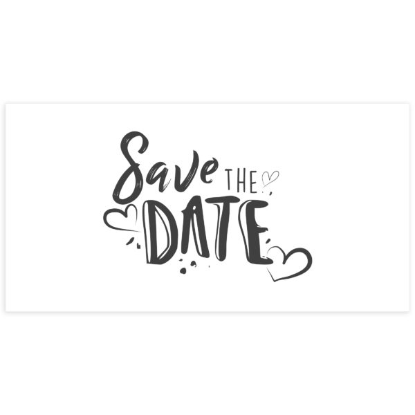 Save the date PSD Photoshop Template