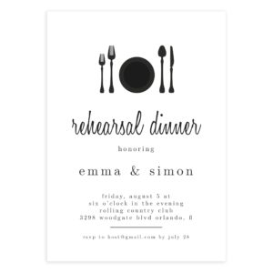Rehearsal Dinner Template