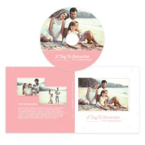 Family cd cover photoshop
