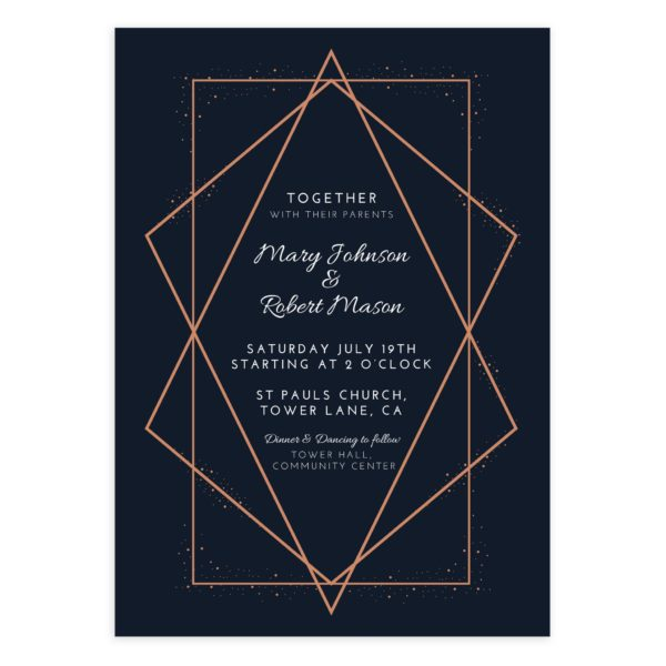Geometric Wedding PSD template for Photographers
