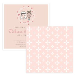 Doodle Wedding Invitation Templates