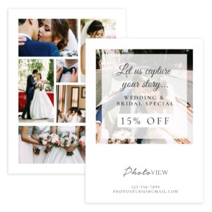 Wedding Photography Post Card