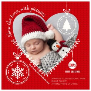 Christmas Mini Sessions Marketing Template