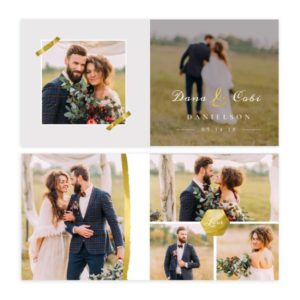Wedding Album Template for Photographers
