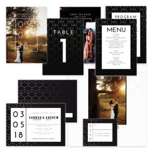 Photoshop Wedding Template Set