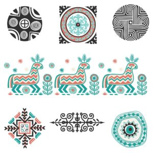 Boho Graphics and Clip Art for Scrapbooking