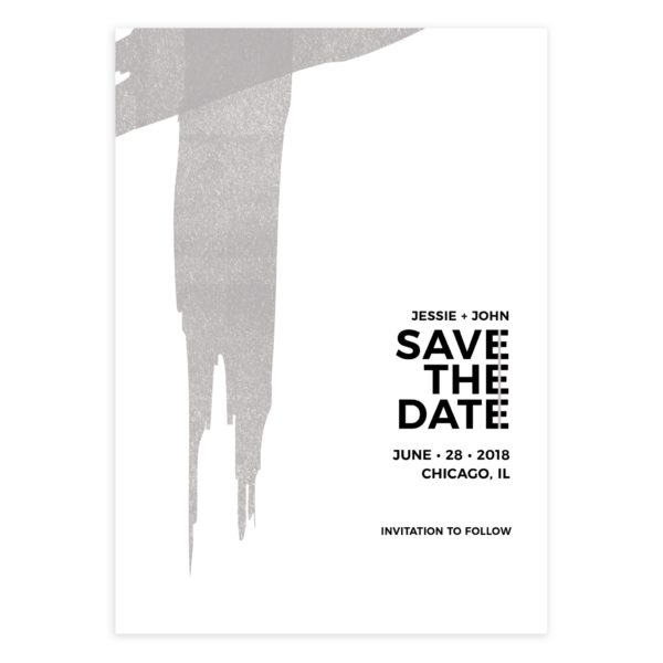 modern photoshop save the date template mockaroon
