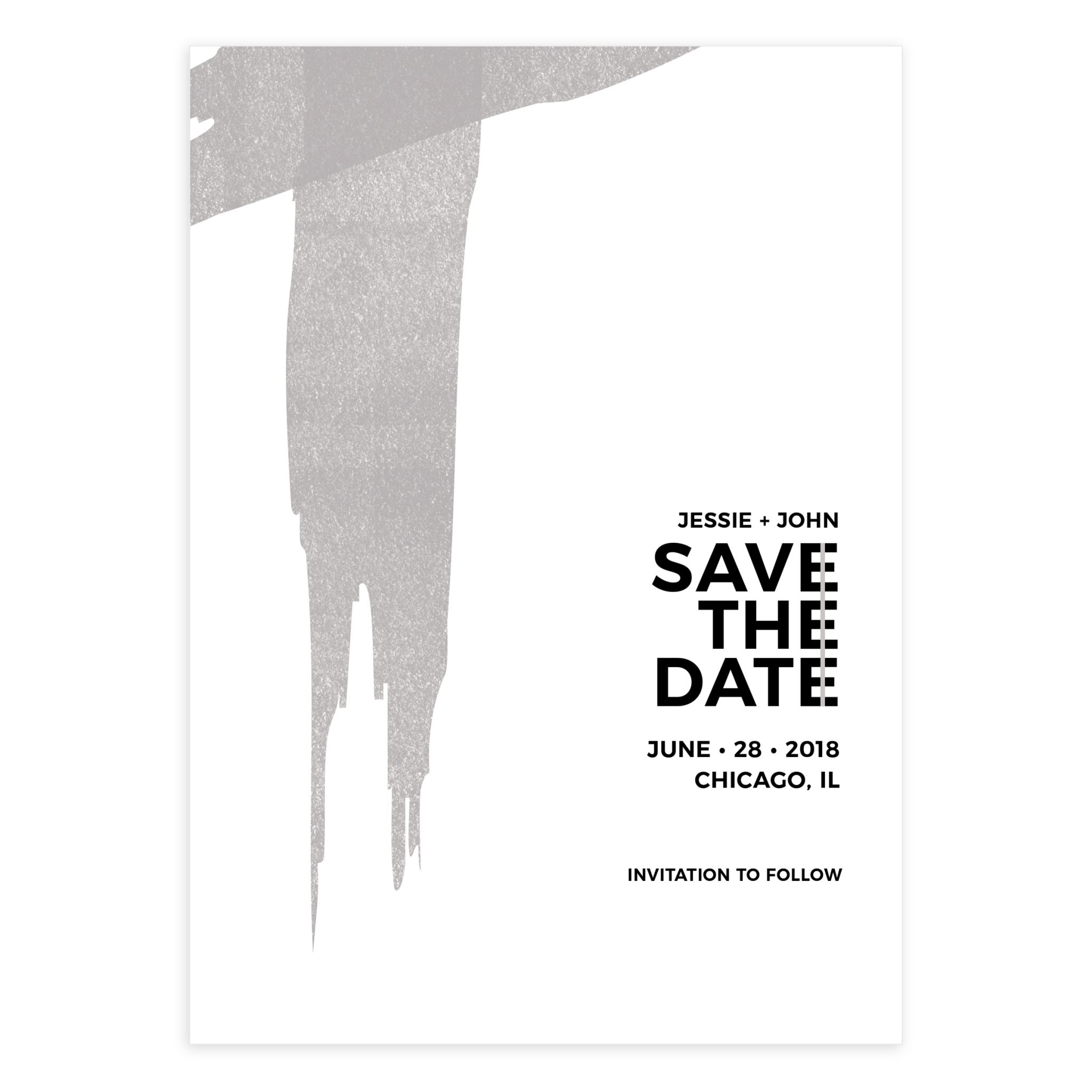 5X7 Save The Date Template ...