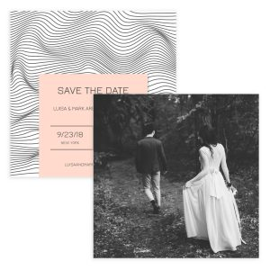 Love Dream Save The Date Card