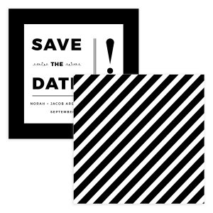 Bold Save the Date Template