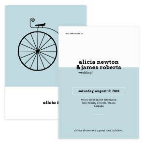 Bike Wedding Invite Template
