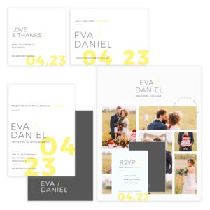 Photoshop Wedding Suite Templates