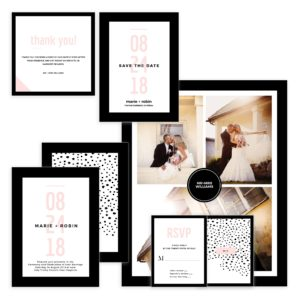 Wedding Suite Photoshop Template