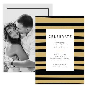 Wedding Invitation Photoshop Template