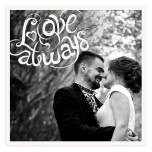 Love Save the Date Template for Photoshop