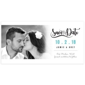 4X5 Save the Date Template PSD for Photographers