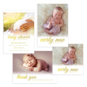 Newborn Photography Templates in Photoshop