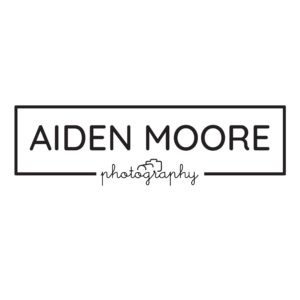 easy to edit in photoshop logo template for a photographer