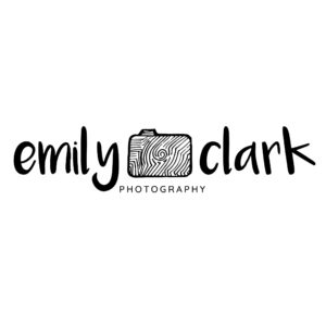 photographer logo design template with camera