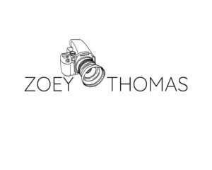 Pre-made camera logo template for photographers