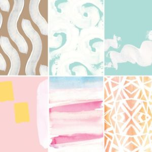 Painted Strokes Backgrounds for Photoshop