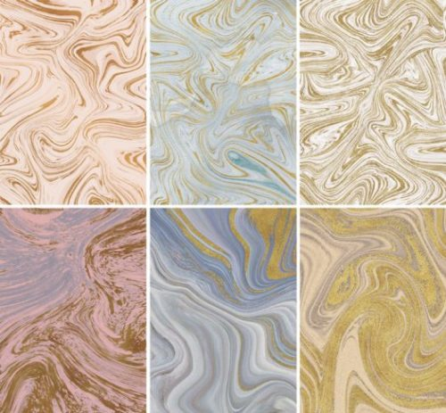 Gold and Marble Photoshop Backgrounds