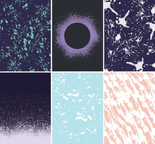 Splatters Backgrounds for Photoshop
