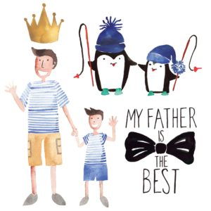 Father's Day Elements for designers