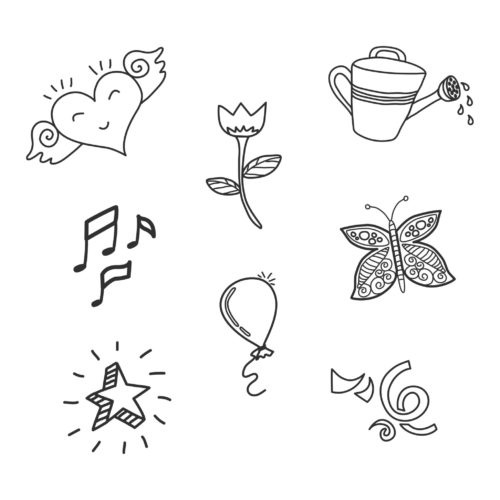 Doodle elements for Graphic Designers