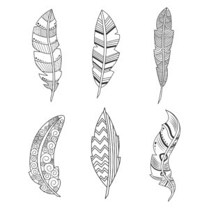 Feather Elements for Digital Scrapbooking