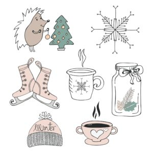 winter png elements