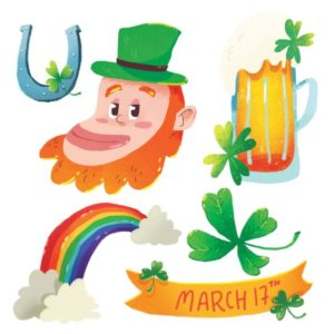 St. Patrick's Day Elements for designers