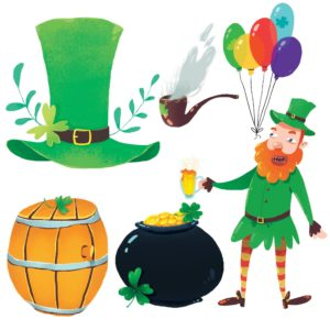 St Patricks Day Elements
