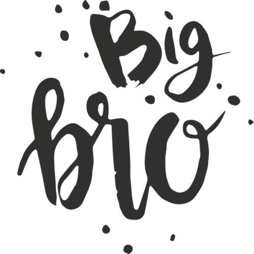 Brother Word Art PNG Format