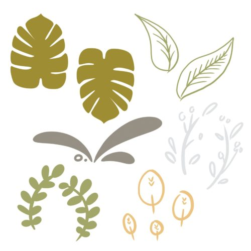 Leaf Design Elements