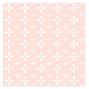Geometric Cross Pink Background