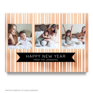 new years card template