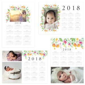 Photoshop Calendar Template for Photographers