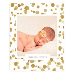 newborn photo album template