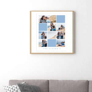 8X10 Collage Template for Photographers