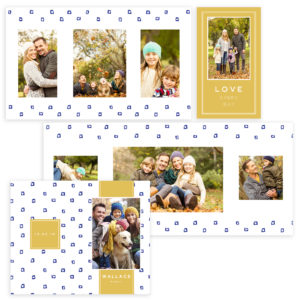 Accordion Book Template for Photographers size 4X8
