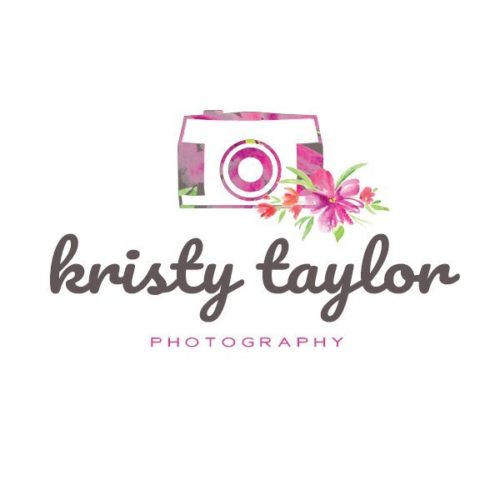 Floral logo template for photographers
